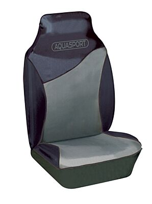 Car Seat Cover Aquasport Waterproof  - Front Pair - Grey  42603 COSMOS