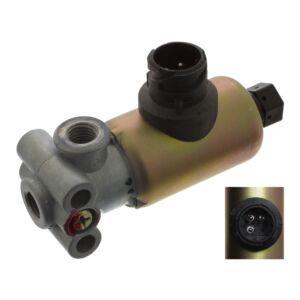 Exhaust-gas Vacuum Solenoid Change-Over Valve door retarder 45612 Febi Bilstein