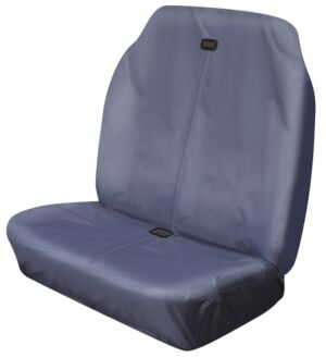 Car Seat Cover High Back Waterproof - Front Pair - Grey  52202 COSMOS