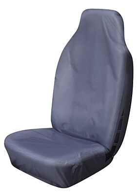 Car Seat Cover High Back Waterproof - Front Single - Grey  COSMOS 52302A