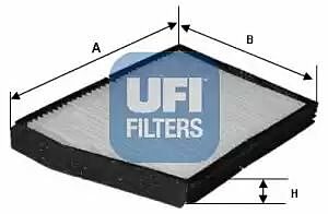 53.018.00 UFI Interior Air Cabin/ Pollen Filter