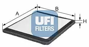 53.020.00 UFI Interior Air Cabin/ Pollen Filter