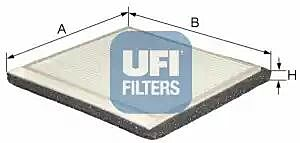 53.021.00 UFI Interior Air Cabin/ Pollen Filter