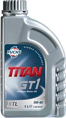 FUCHS TITAN GT1 5W-40 XTL ENGINE OIL LUBRICANT 1 LITRE ACEA C3 API SN/SM