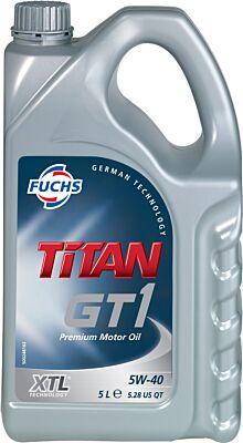 FUCHS TITAN GT1 5W-40 XTL ENGINE OIL LUBRICANT 5 LITRES ACEA C3 API SN/SM