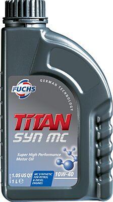 FUCHS TITAN SYN MC 10W-40 ENGINE OIL LUBRICANT 1 LITRE ACEA A3/B4