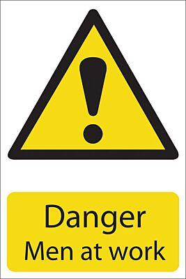 Draper 'Danger Men At Work' Hazard Sign | 72441