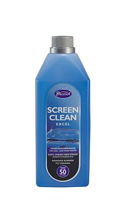 Excel Screen Wash - Concentrated - 1 Litre AD25XLS DECOSOL
