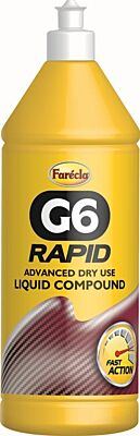 G6 Dry Liquid Compound - Rapid - 1 litre AG6-1600/6 FARECLA TRADE
