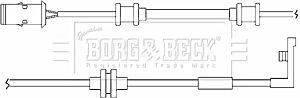 Warning Contact Brake Pad Wear BWL3014 by Borg & Beck