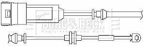 Warning Contact Brake Pad Wear BWL3016 by Borg & Beck