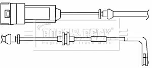 Warning Contact Brake Pad Wear BWL3018 by Borg & Beck