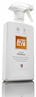 Clean Wheels 500ml Powerful Wheel Cleaner Brake Dust Remover Autoglym