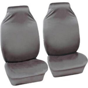 Car Seat Covers Defender - Front Pair - Grey SAKURA DFFP1