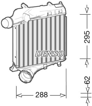 Denso DIT28021 Intercooler Genuine OE Quality Component