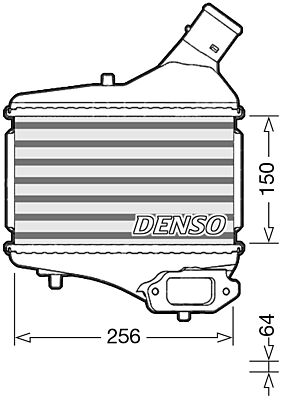 Denso DIT40010 Intercooler Genuine OE Quality Component