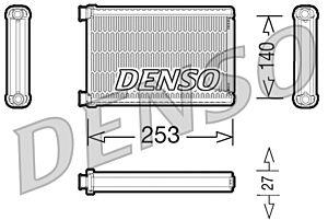 Denso DRR05005 Heater Core