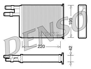 Denso DRR09031 Heater Core