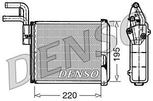 Denso DRR09032 Heater Core