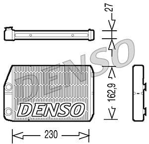 Denso DRR09034 Heater Core