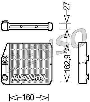 Denso DRR09035 Heater Core