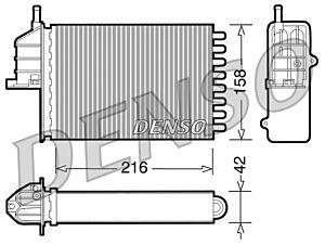 Denso DRR09080 Heater Core