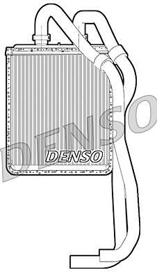 Denso DRR12021 Heater Core