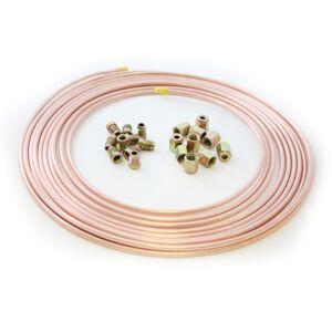 25ft Cupro Copper Nickel Brake Tube Pipe 3/16