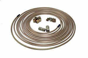 25ftx Cupro Copper Nickel Brake Pipe 3/16