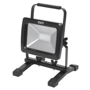 Sealey LED085 | Rechargeable Portable Floodlight 20W SMD LED