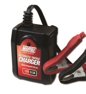 Automatic Trickle Battery Charger - 0.5A - 6V/12V MP7402 MAYPOLE