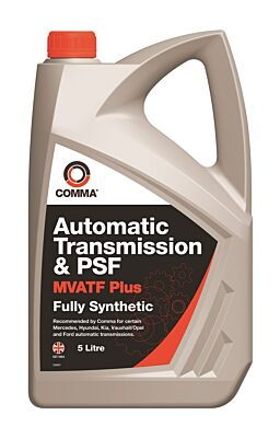 MultiVehicle Automatic Transmission & Power Steering Fluid 5 Litre MVATF5L COMMA