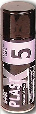Plast X Plastic Bumper Top Coat - Dark Grey - 400ml PLAS/5DG U-POL