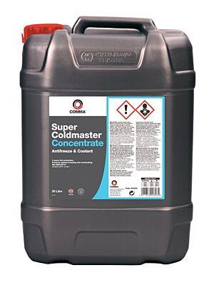 Super Coldmaster Antifreeze & Coolant - Concentrated - 20 Litre SCA20L COMMA