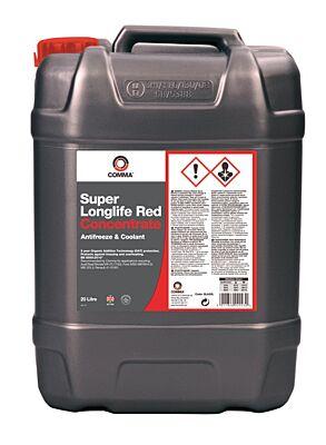 Super Longlife Antifreeze & Coolant - Concentrated - 20 Litre SLA20L COMMA
