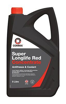 Super Longlife Antifreeze & Coolant - Concentrated - 5 Litre SLA5L COMMA