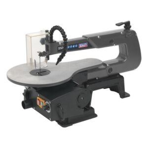 Sealey SM1302 | Variable Speed Scroll Saw 406mm Throat 230V