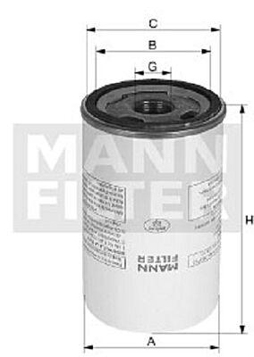 Air Oil Separator LB1374/2 by MANN