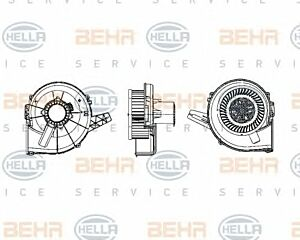 Air Conditioning fan 8EW009157-111 by BEHR