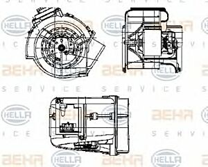 Air Conditioning fan 8EW009159-371 by BEHR