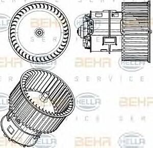 Air Conditioning fan 8EW351104-431 by BEHR