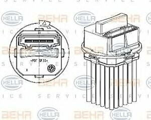 Air Conditioning Regulator 5DS351320-011 by BEHR