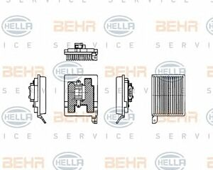 Air Conditioning Regulator 5HL351321-181 by BEHR Front Rear