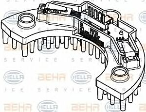 Air Conditioning Regulator 5HL351321-561 by BEHR