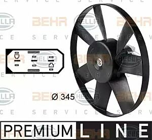 Air Conditioning fan 8EW009144-451 by BEHR