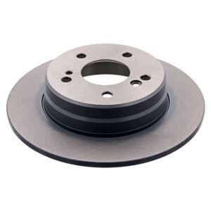 Brake Disc 04629 by Febi Bilstein Rear Axle Genuine OE - 1 Pair
