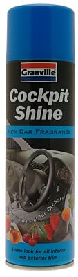 Cockpit Shine - New Car Fragrance - 500ml 0886 GRANVILLE