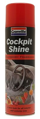 Cockpit Shine - Strawberry Fragrance - 500ml 0890 GRANVILLE