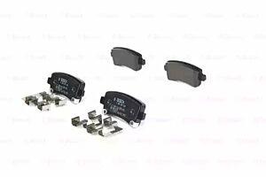 Bosch 0986424124 Brake Pad Set Disc Brake Rear Axle