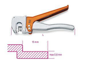 Beta Tools 1065P Bodywork Steel Hand Crimper 228mm   010650020